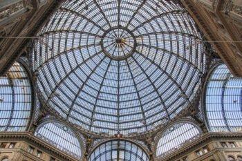 Galleria Umberto I Dach
