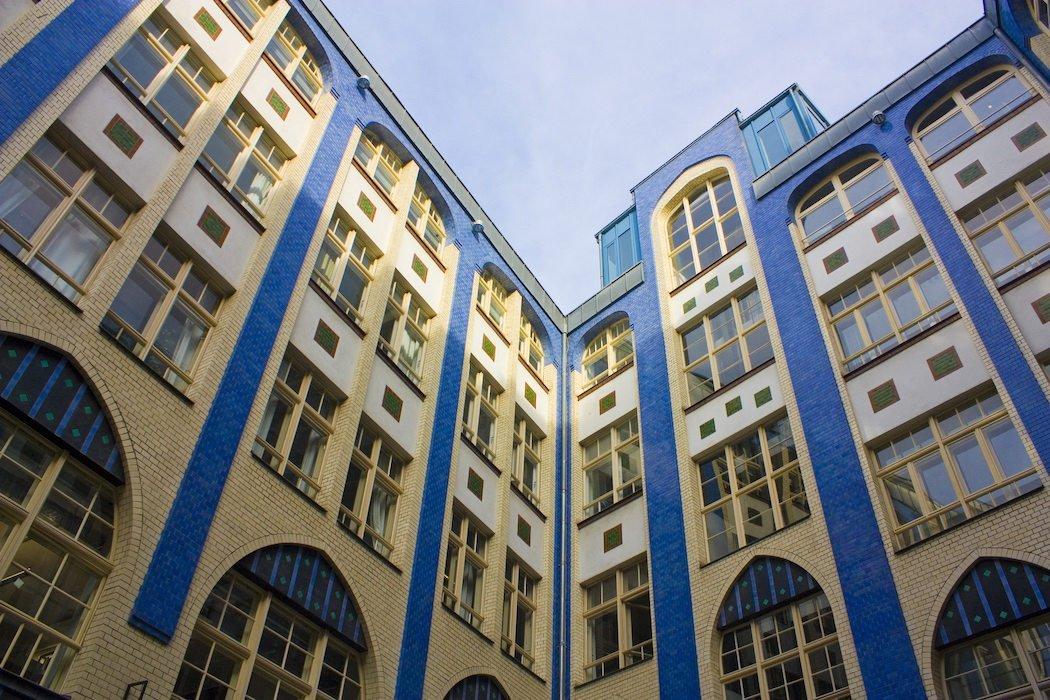 Fassaden in den Hackeschen Höfen