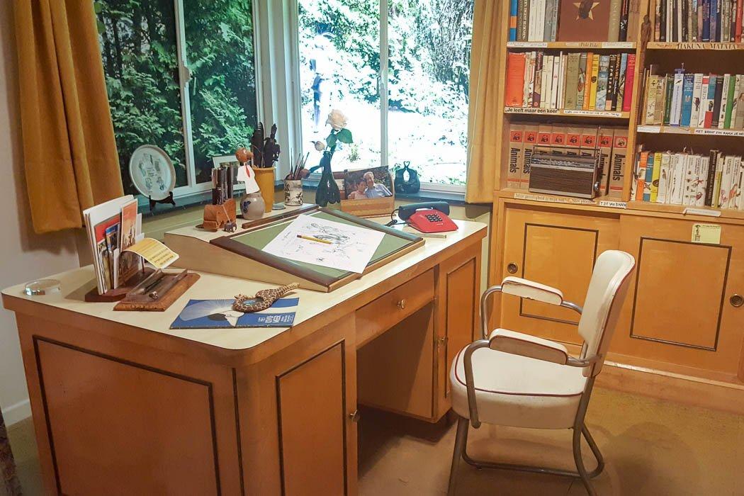 Schreibtisch von Marc Sleen
