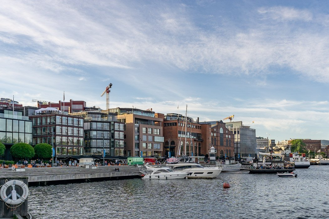 Oslo Aker Brygge Hafen