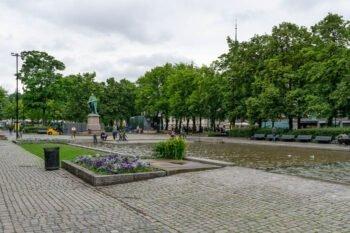 Park an der Karl Johans Gate