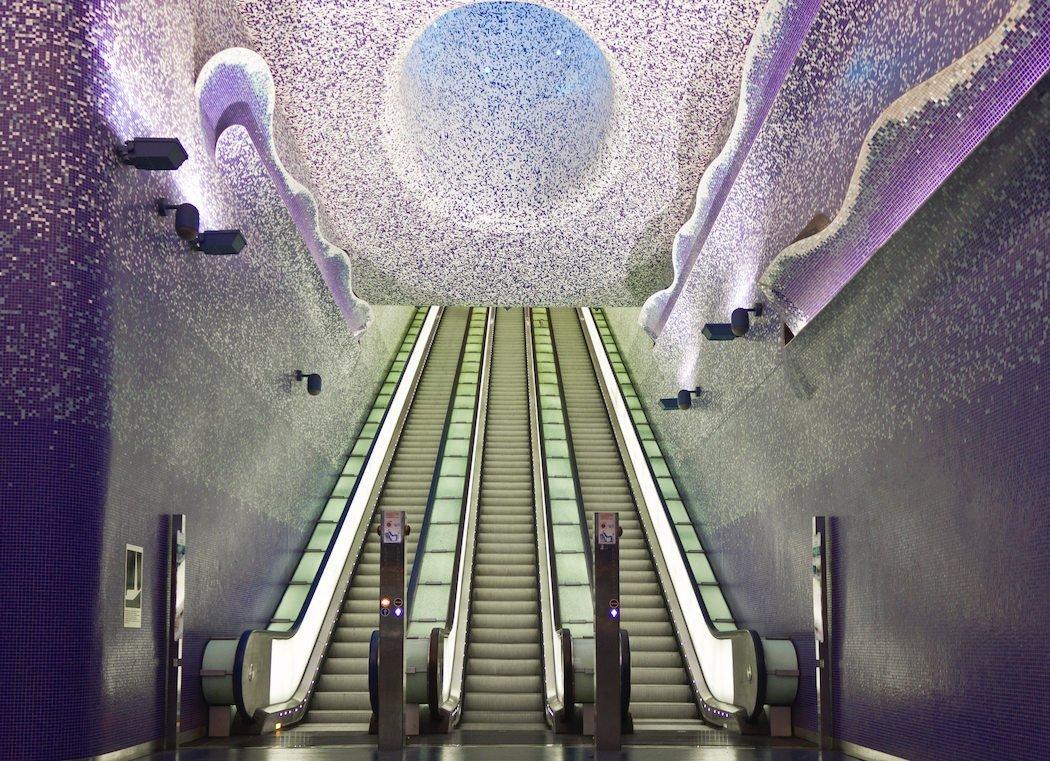 Die U-Bahn-Haltestelle Toledo