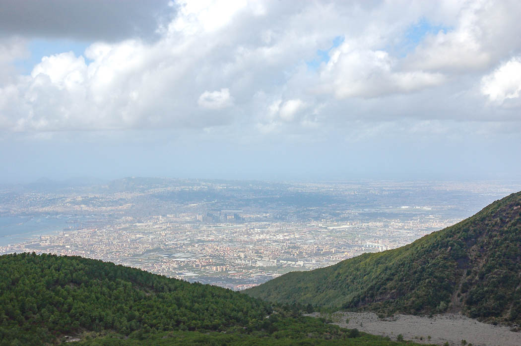 Vesuv Aussicht