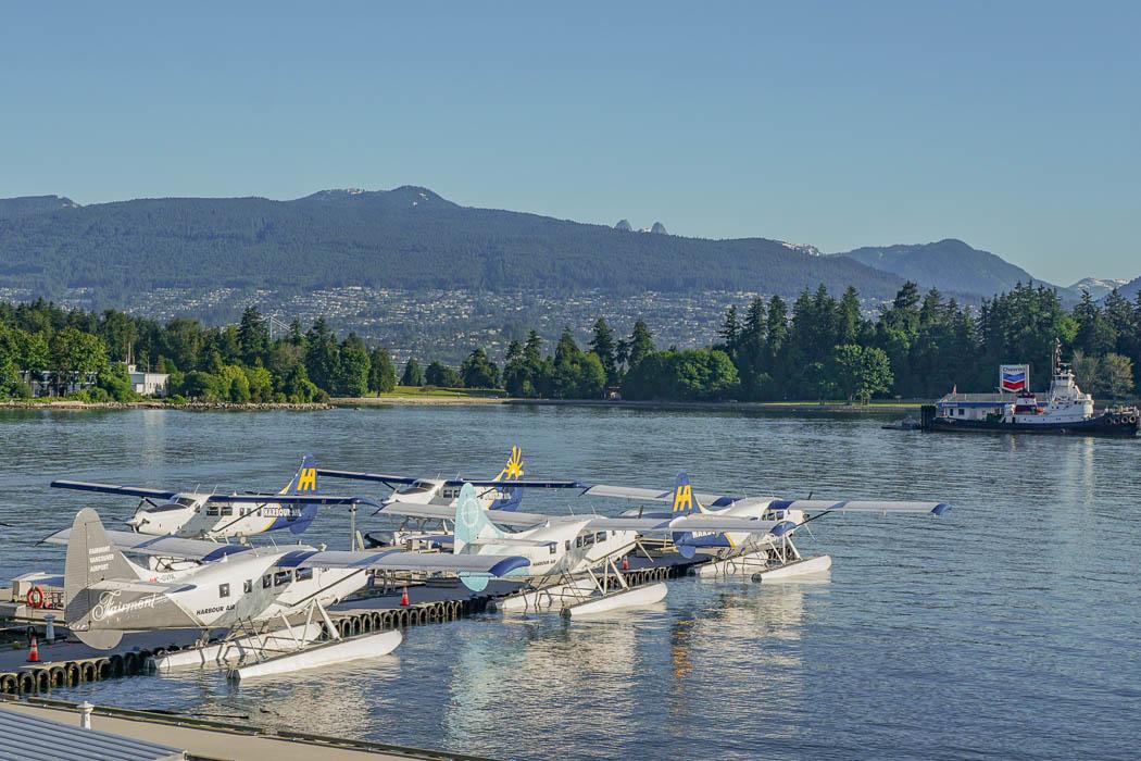 Wasserflugzeug nach Vancouver Island