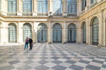 Der Innenhof im Archivo General de Indias