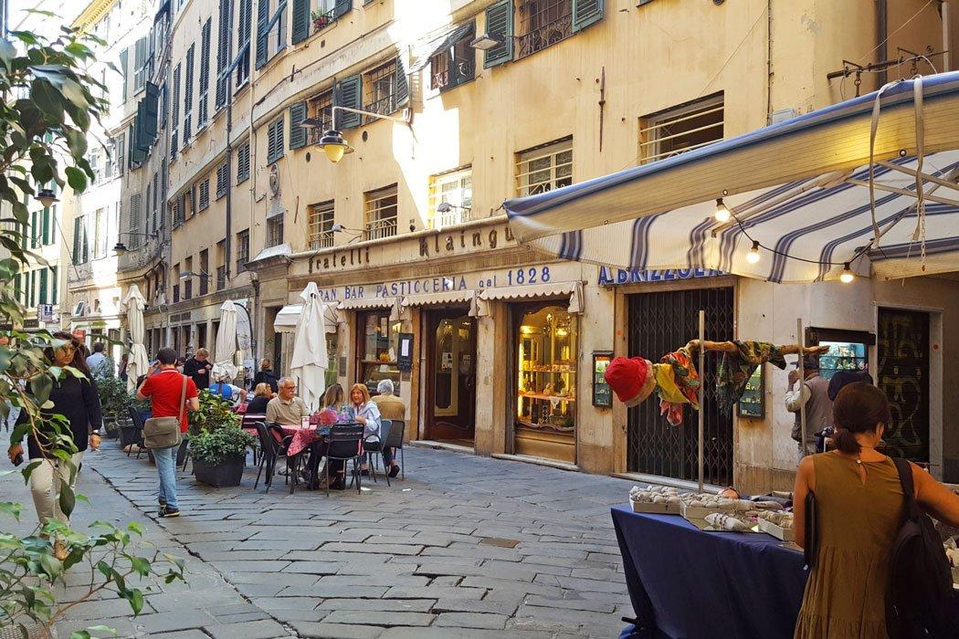 Die schönsten Sehenswürdigkeiten in Genua