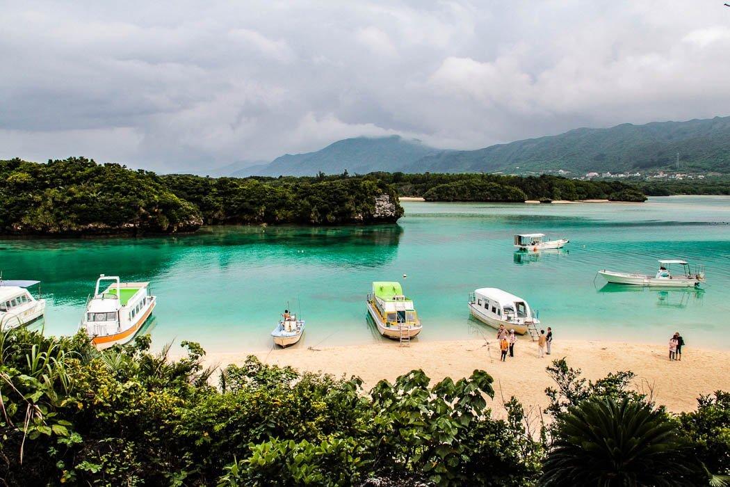 Strand von Okinawa