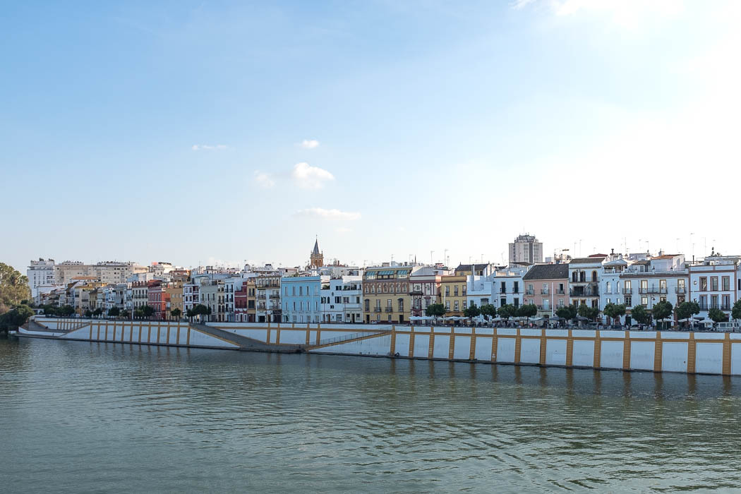 Das Viertel Triana in Sevilla