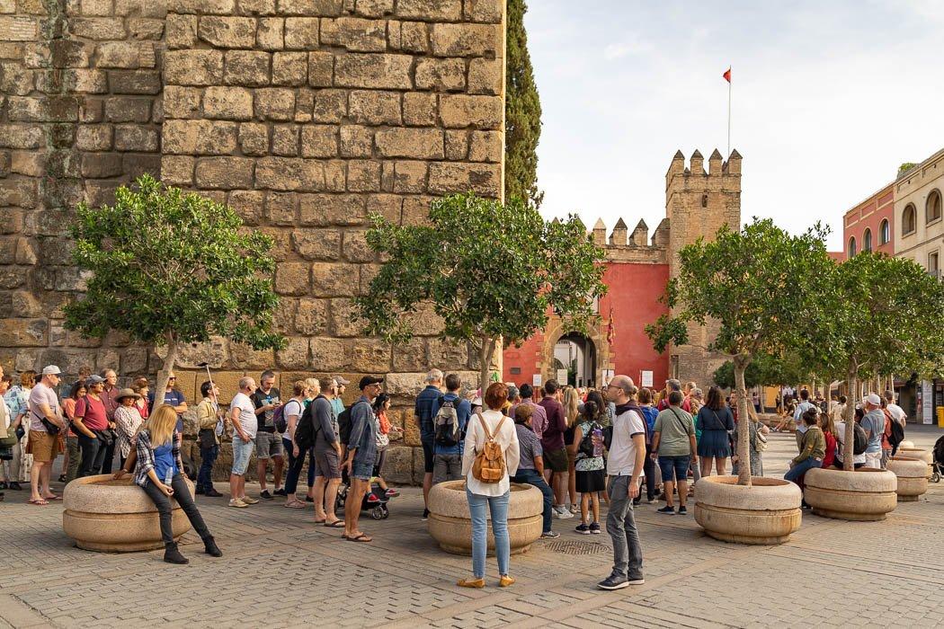 Eingang zum Alcázar