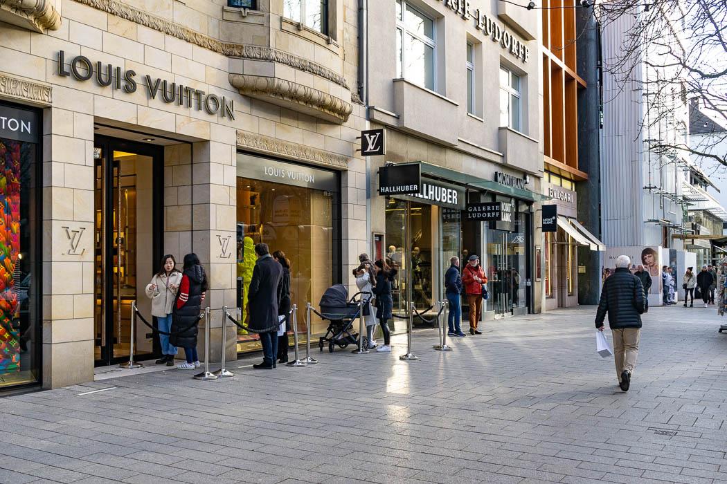 Königsallee Luxus Shopping