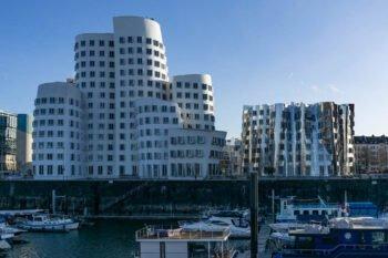 Architektur im Medienhafen