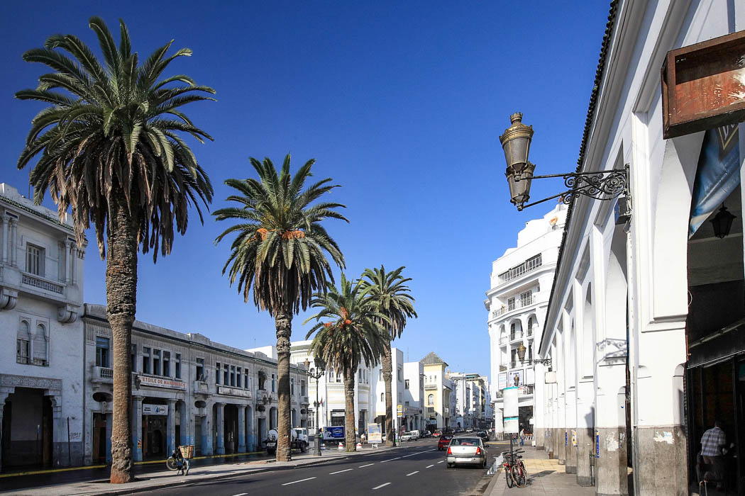 Boulevard Mohamed V.