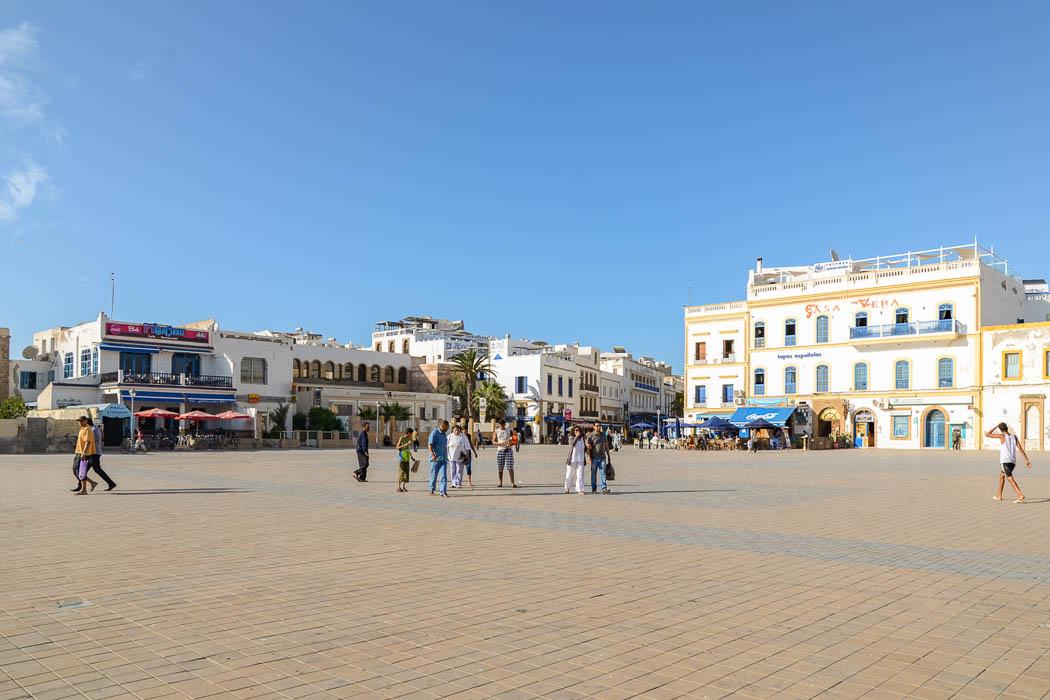 Hassan Platz in Essaouira