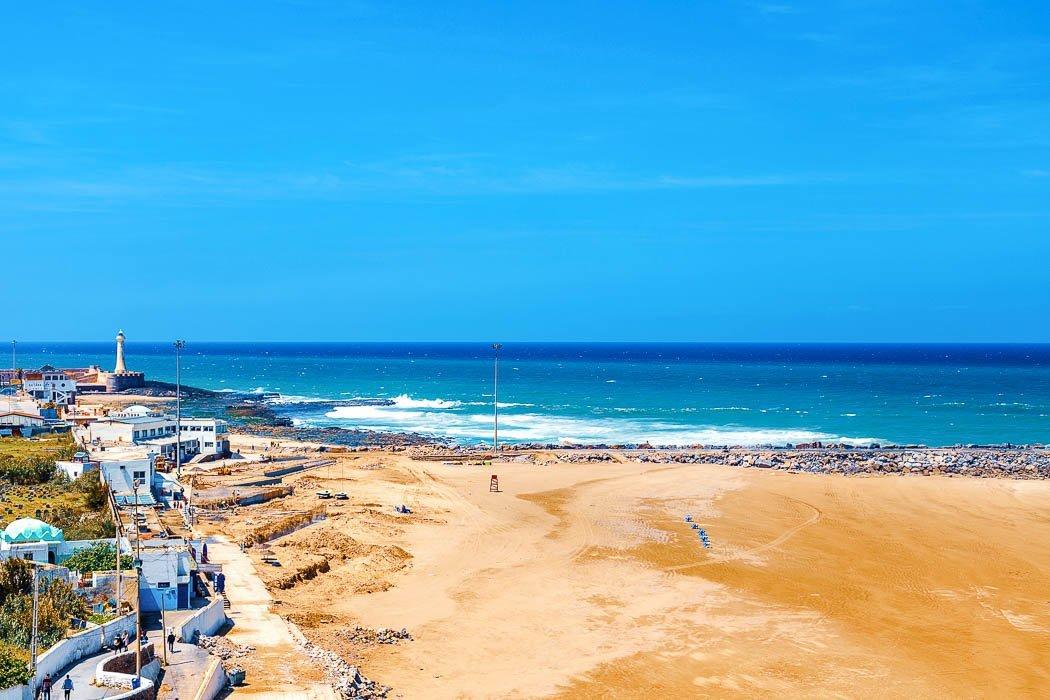 Rabat Strandpromenade