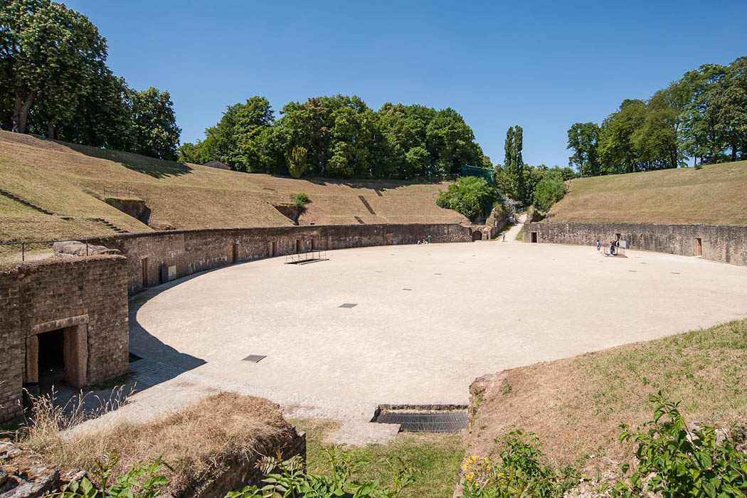 Das Amphitheater in Trier