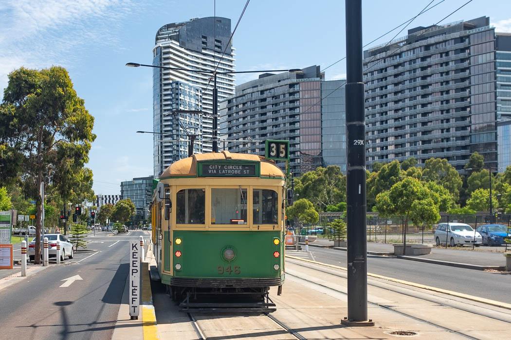 Tram 35 Melbourne