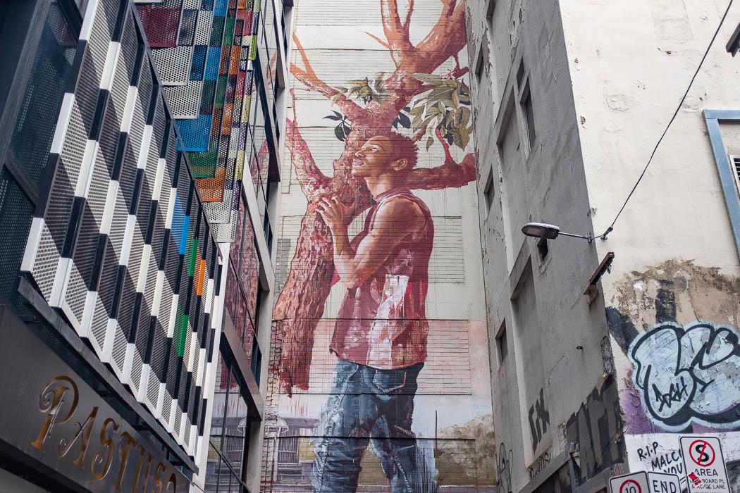 AC/DC Lane Mural