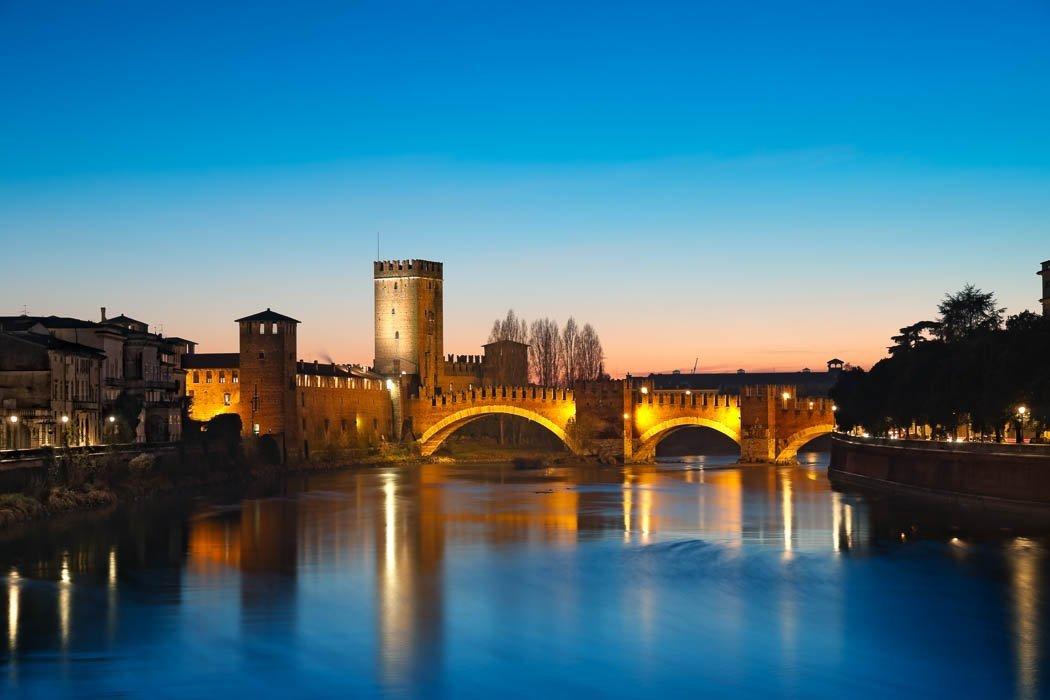 Castelvecchio und Ponte Scaligero