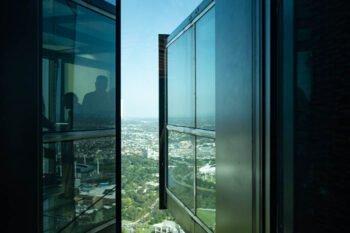 Eureka Tower Glaswürfel