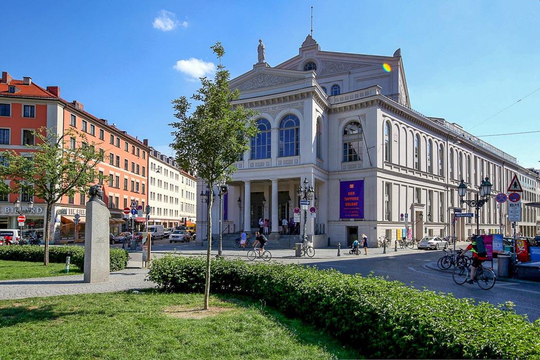 Gärtnerplatz und Gärtnerplatztheater in München