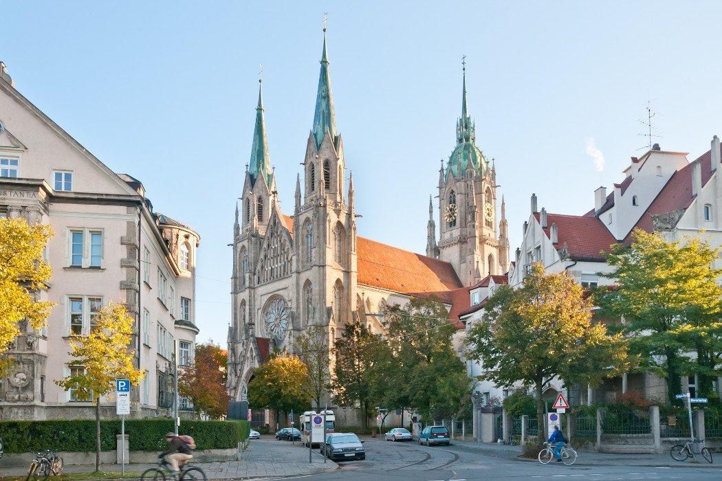 Die Sankt-Paul Kirche in München