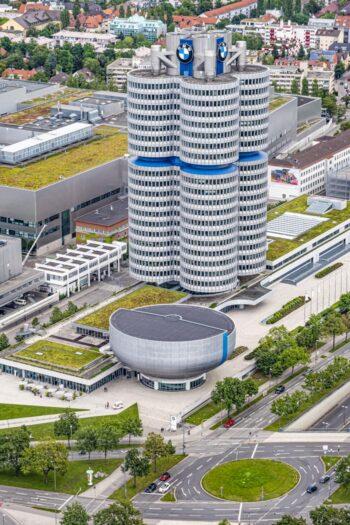 Der BMW-Turm in München