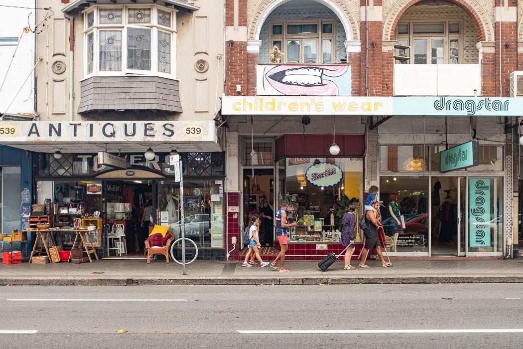 Newtown Vintage Geschäfte