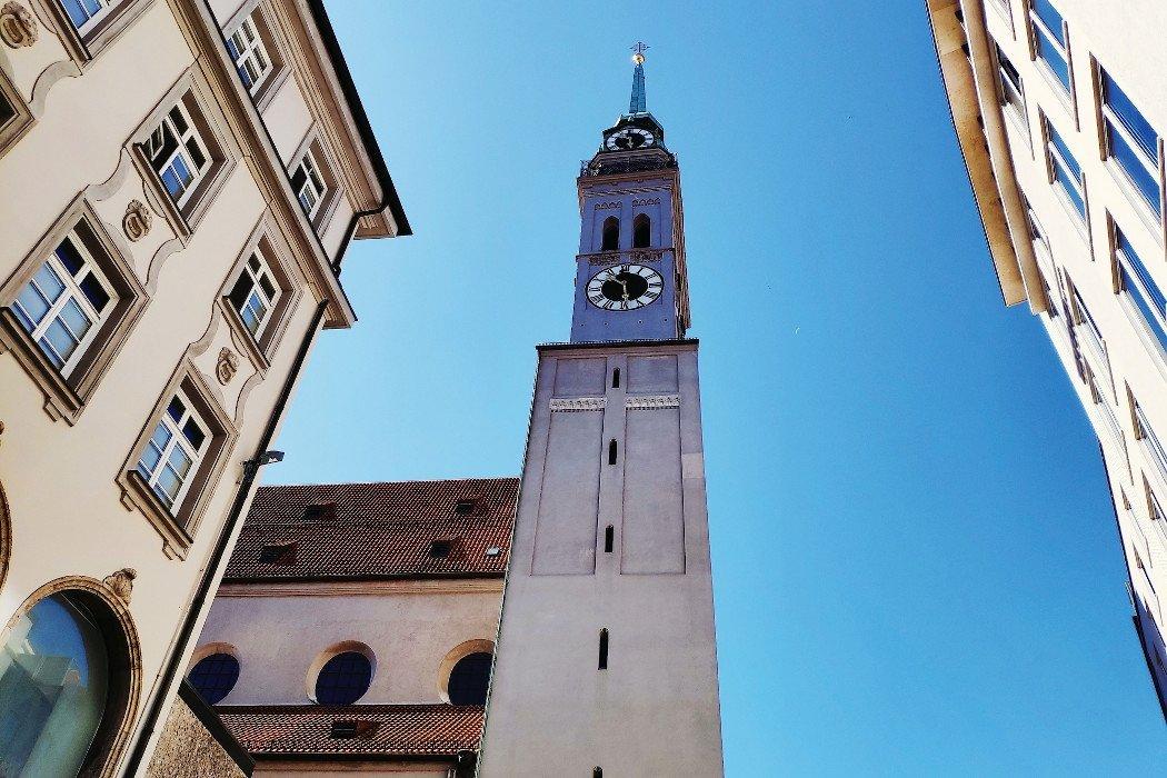 Der Turm des Alten Peter in München