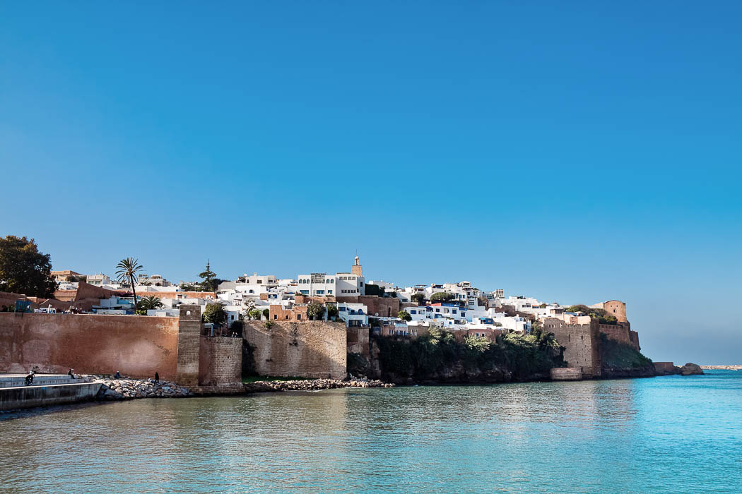 Rabat Blick auf Medina