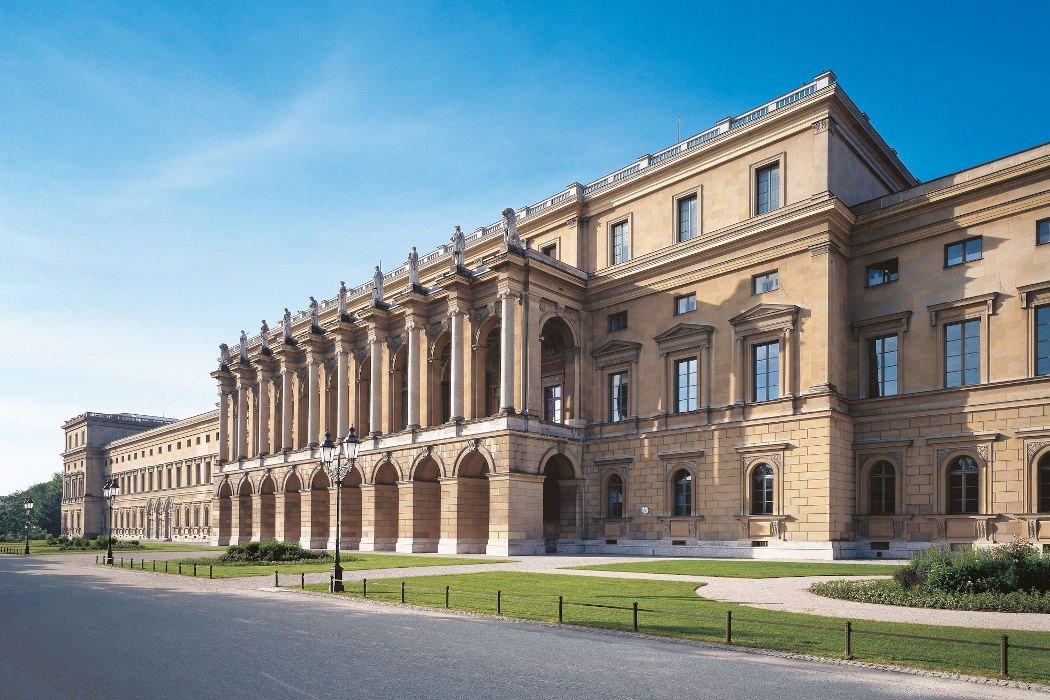 Der Eingang der Münchner Residenz