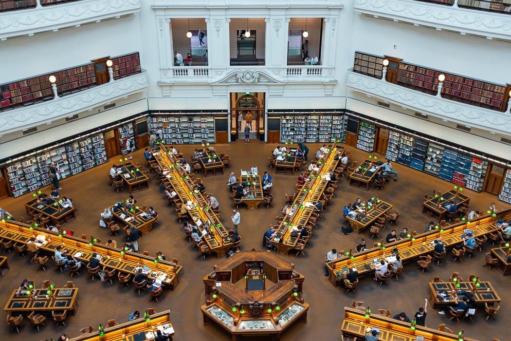 State Library von Victoria