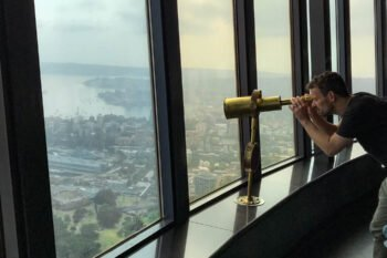 Sydney Tower Aussichtsplattform