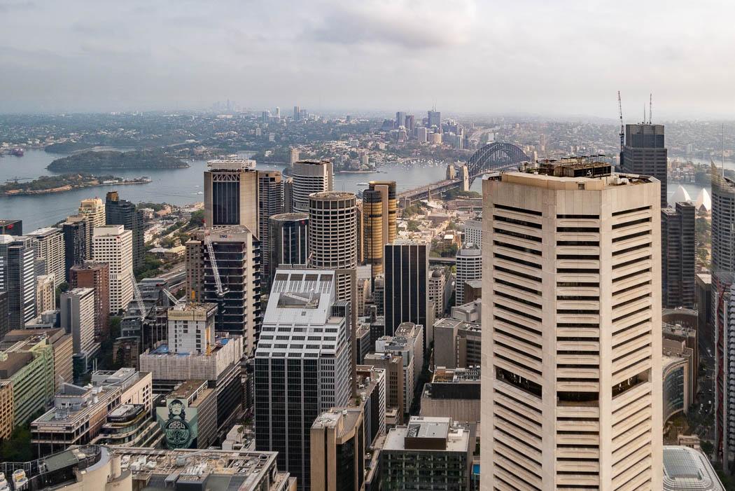 Sydney Tower Aussicht