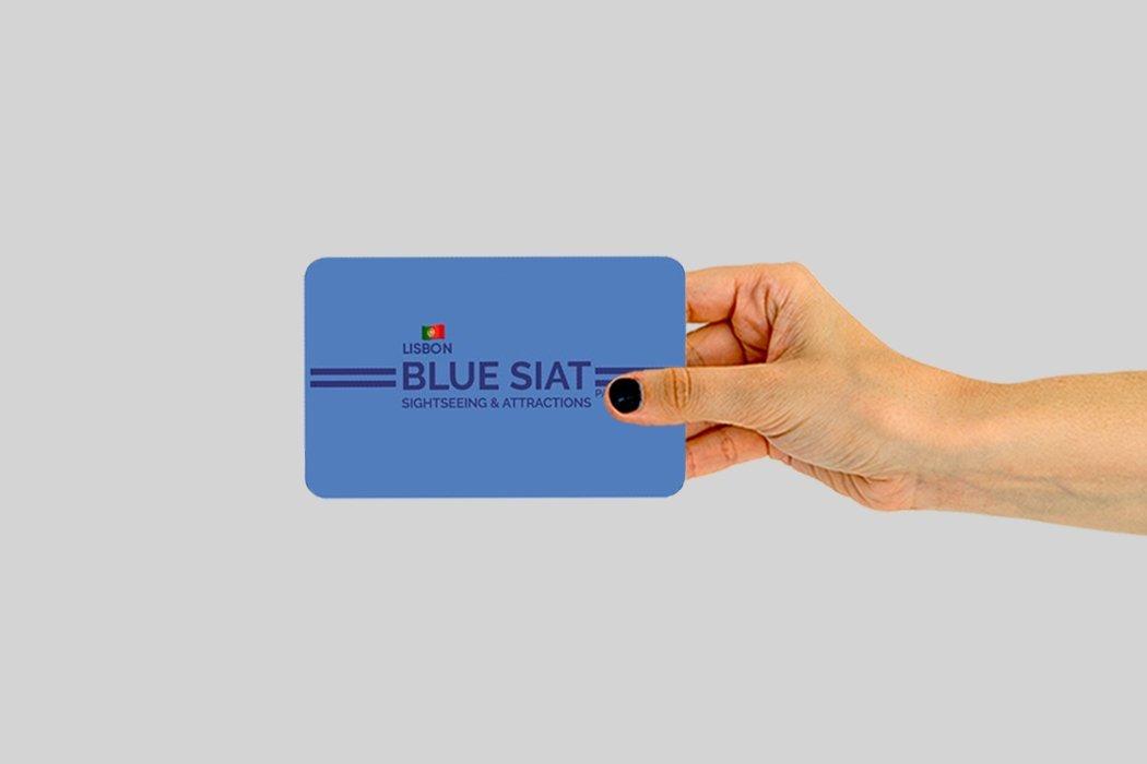 Blue Siat Pass Lissabon