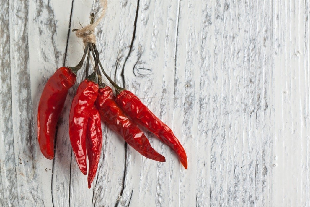 Rote Chillies