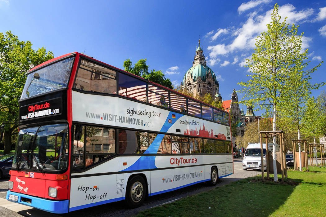 Bus der Stadtrundfahrt