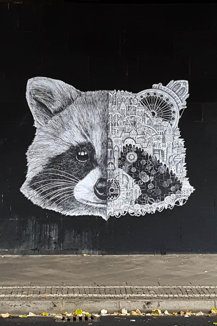 Streetart Ardif Tour Düsseldorf