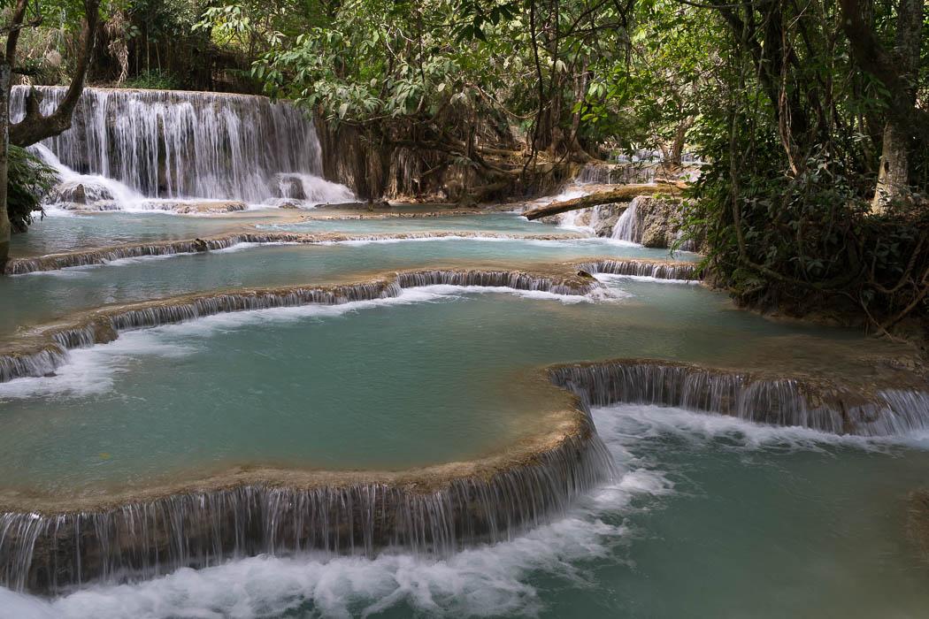 Wasserfall mit Polfilter