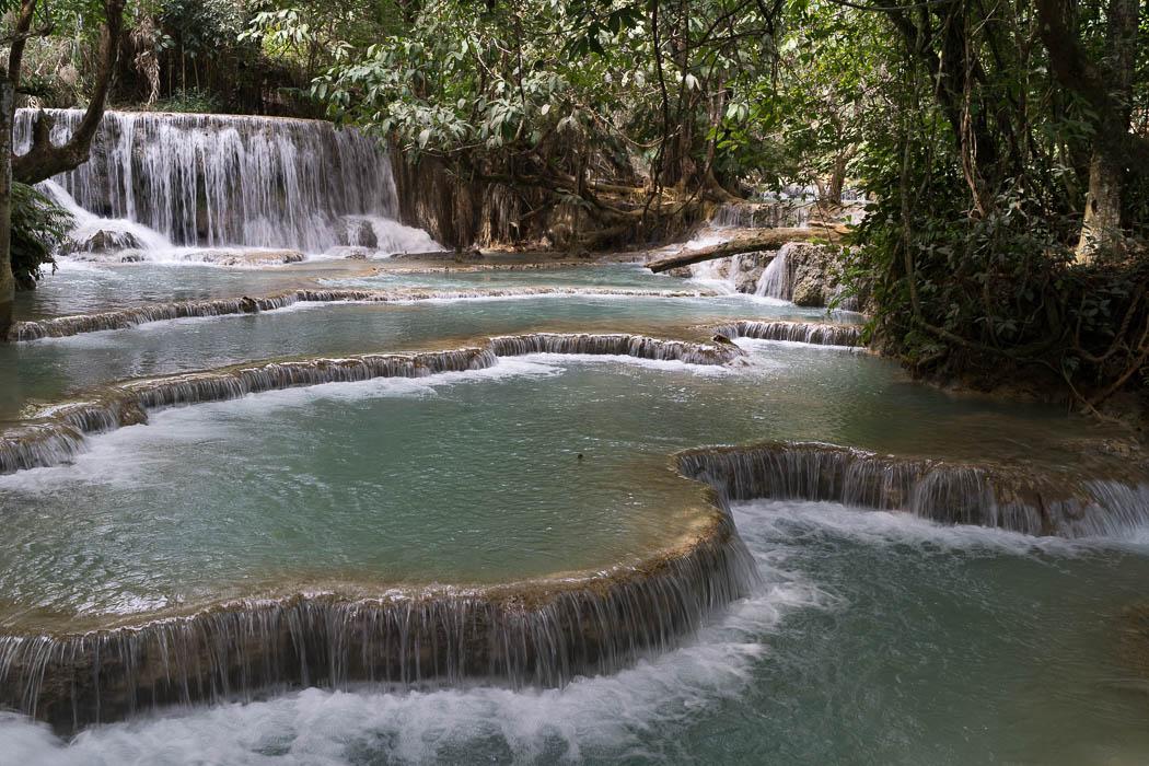 Wasserfall ohne Polfilter