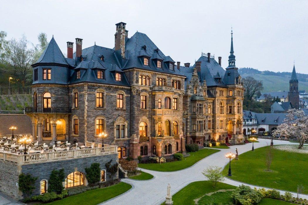 Schloss Lieser Aussenansicht