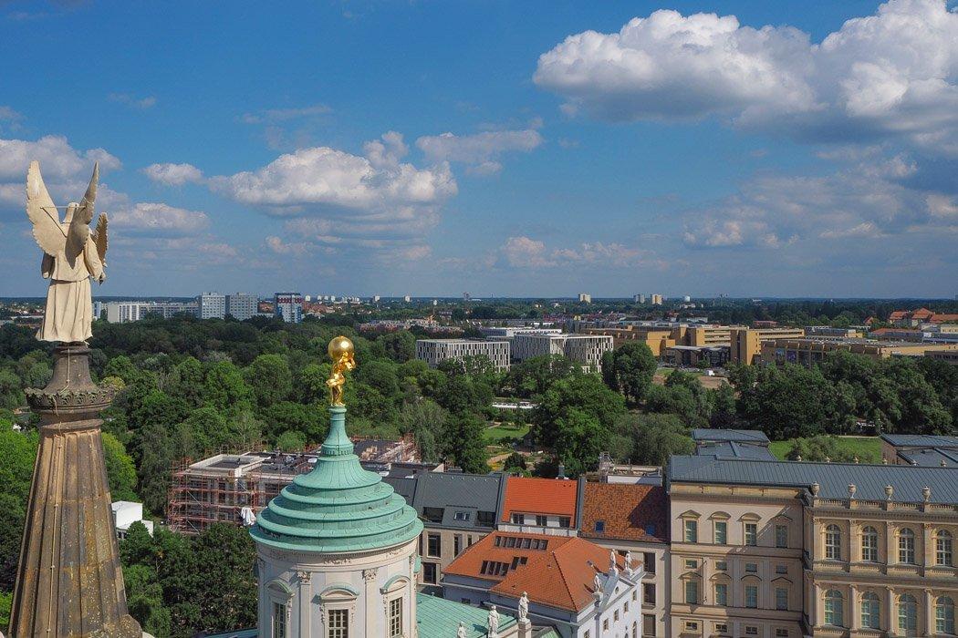 Aussicht von der Nicolaikirche in Potsdam