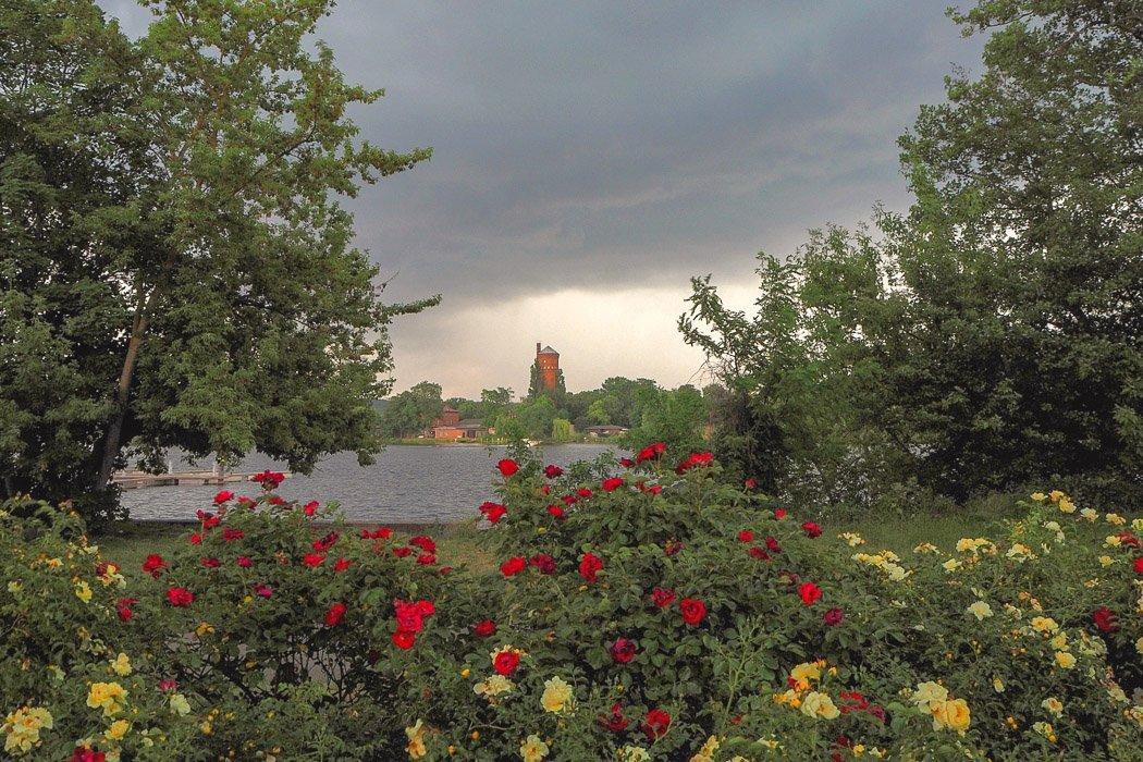 Ausblick auf die Havel und den Wasserturm