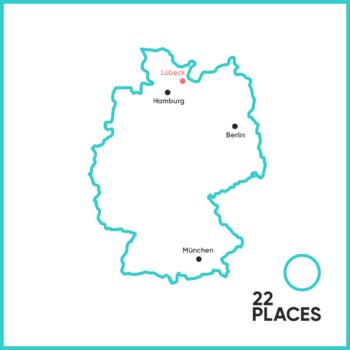 Wo liegt Lübeck?