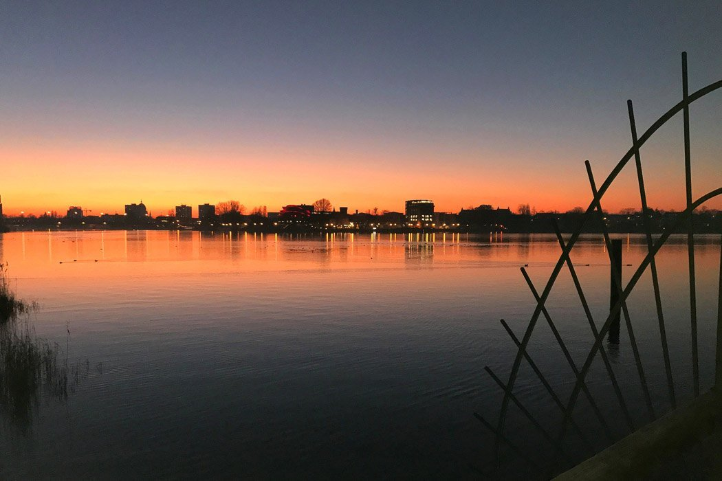 Skyline Potsdam Abend