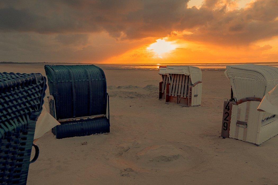 Bensersiel Strand Nordseeküste
