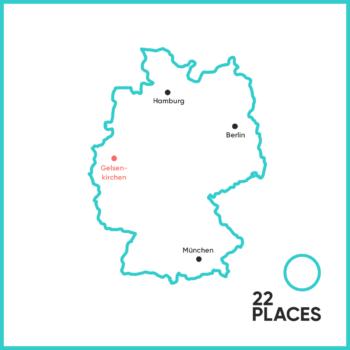 Wo liegt Gelsenkirchen?