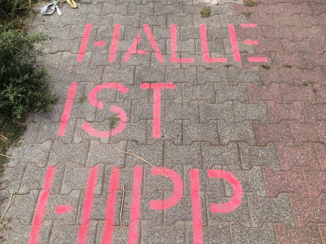 Halle ist hipp