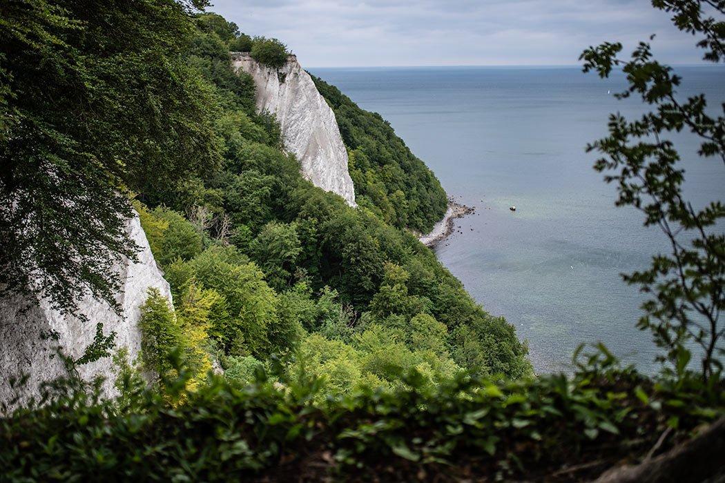 Kreidefelsen, Wald und Meer