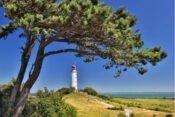 Leuchtturm und Landschaft