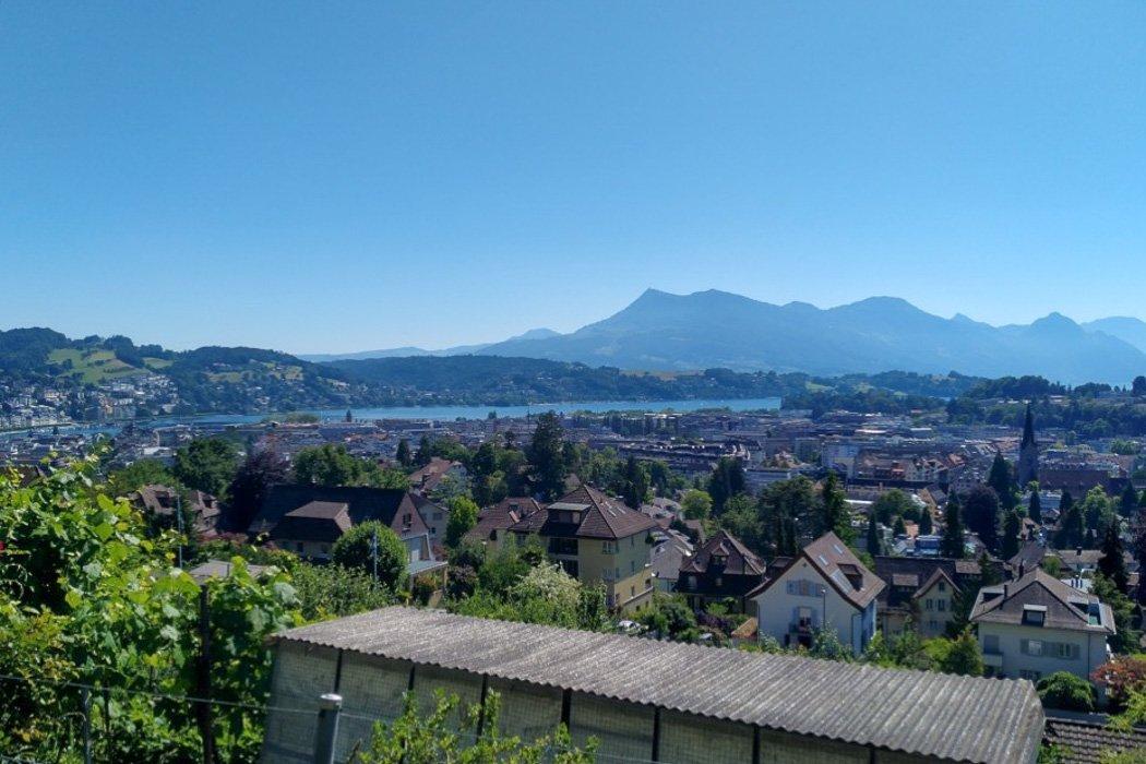 Aussicht vom Sonnenbergweg